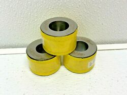 Leader Pqe-712445-p3-d4-1 Emergency Gage Master Bore Plug Ring Lot Of 3 17d