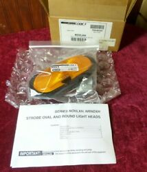 Truck-lite Model 60 Products Oval Strobe Head Sealed Amber Code 3 Lamp And Grommet