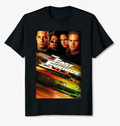 Fast And Furious 2001 Cast Car Fan Gift Anniversary Unisex T Shirt S-5xl Black Mo