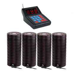 Su668 Restaurant Wireless Paging Queuing System 40coaster Pager Food Truck Cafe