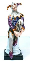 Royal Doulton Figure And039the Jesterand039 Hn2016 Made In England