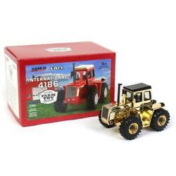 Gold 1/64 International Harvester 4186 4wd '20 National Farm Toy Museum Zfn44237