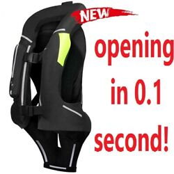 New Motorcycle Airbag Vest Men Motorcycle Jacket Reflective Motocross Protective
