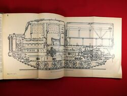 Artillery Vehicle At-s Tractor Vtg Manual Russian Cold War Military Soviet Rare