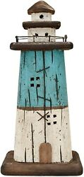Wooden Lighthouse Decorhandcrafted Lighthouse Nautical Themed Home Decoration