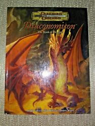 Dungeons And Dragons Dandd Draconomicon The Book Of Dragons And03903 1st Print Wotc Rare