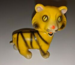 40's 50's Japan Vintage Bengal Tiger Rubber Squeeky Toy