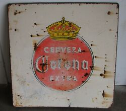 Great Value Corona Metal Table Porcelain Top 3-old Mexican-restaurant-30x30