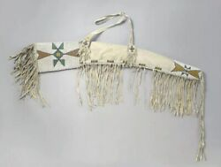 Indian Beaded Scabbard Native American Sioux Style Leather Rifle Scabbard S502