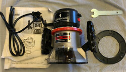 Vintage Sears Craftsman 1 H.p 6.5amp Double Insulated Router. New