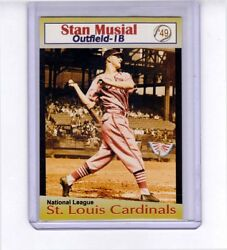 Stan Musial And03949 St Louis Cardinals Rare Miller Press Only 200 Were Made