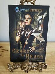 Gears Of Brass-steampunk Anthology.rare Paperback By Curiosity Quills Press