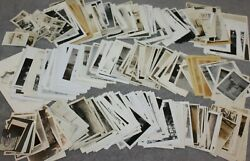 Photos Lot Of 300+1900-50's Venice/mexico/croatia/bicycles And Automobiles++