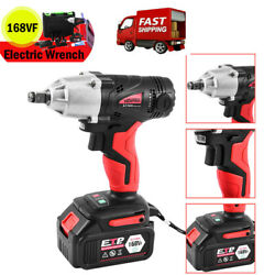 16800mah 1/2and039and039 Electric Brushless Cordless Impact Wrench Drill High Torque Tools