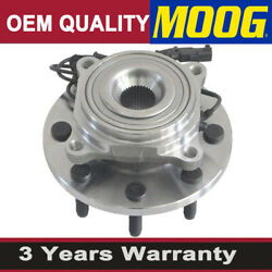 4wd Moog Front Wheel Hub Bearing Assembly For Dodge Ram 2500 Ram 3500 W/abs