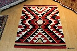 4and039 X 6and039 Navajo Design Southwestern Style Hand Woven New Handmade Shirvan