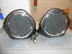 Harley Davidson Touring Right And Left Rear Speakers Boxes 76304-98a 76303-98a