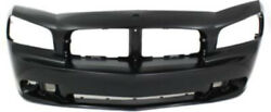 Primed Front Bumper Cover Replacement For 2006-2010 Dodge Charger