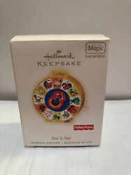 2007 Hallmark Ornament Fisher Price The Farmer Says  See N Say
