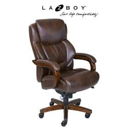 La-z-boy Delano Big And Tall Executive Office Chair - Chestnut