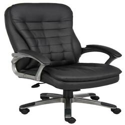 Boss Office And Home Black High-back Executive Chair