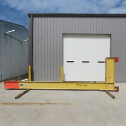 2 Ton Cantilever Jib Crane 19and0399 Swing 16and039 Trolley Travel Wall Mounted