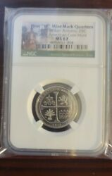 2019 W Ngc Ms67 Texas San Antonio Missions Quarter Great American Coin Hunt