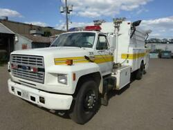 F700 Ford Emergency Service Vehicle Disaster Truck 35,207 Miles