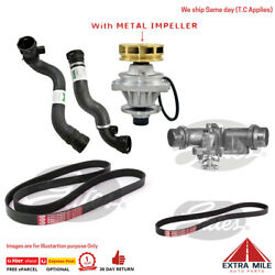 For Bmw E46 3-series Cooling System Kit Water Pump Thermostat Radiator Hose Belt