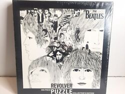 Beatles Revolver Collectible Puzzle 500 Pieces New Sealed Black White Usaopoly