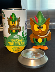 Funko Soda Woodsy Owl Flocked Chase 1/1250 Wondercon Exclusive Shared Sticker