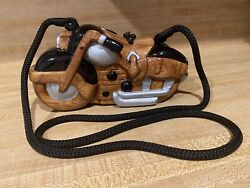 Timmy Woods Wooden Motorcycle Purse $139.99