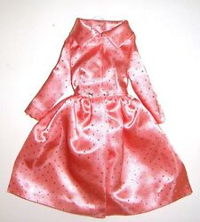 Barbie Fashions Pink Coat Dress Reproduction For Dolls Vf16