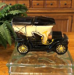 Vintage Touring Car Cookie Jar. Mccoy Circa 1962. Excellent. Free Shipping