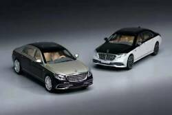 Pre-order Master 1/64 Model Car Mercedes Maybach S650 Alloy 2 Versions Diecast