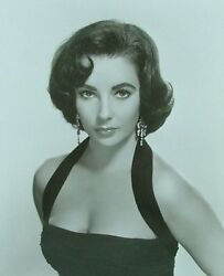 Double-weight High Quality 8x10 Glossy Photo Of Elizabeth Taylor Actress