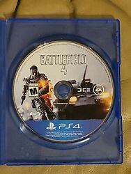 BATTLEFIELD 4 PLAYSTATION 4 VIDEO GAME TESTED WORKING 2013