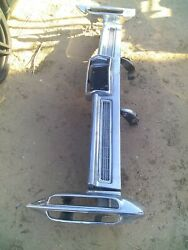 1966 Cadillac Fleetwood Rear Bumper With L.p. And Inserts.driver Condition