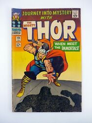 Journey Into Mystery 125 Marvel Comics Thor Immortals Last Issue Vg/fn 1966