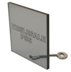 Grey Tinted Perspex Acrylic Sheet - 8mm Grey 9t21 Suitable For Boat Windows