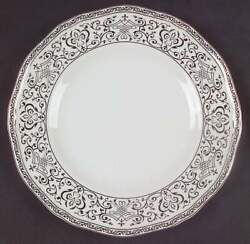 Wedgwood Queenand039s Lace Accent Luncheon Plate 3419734