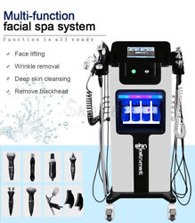 New Microdermabrasion Facial Eyes Ultrasound Rf Facial Machine Hydro Peel Device