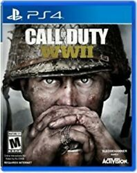 Call Of Duty Wwii Ww2 Ps4 Playstation 4 Brand New Sealed Same Day Free Ship