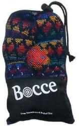 Buena Onda Bocce Ball Set - Portable Crochet Hacky Sack Toss Game For Kids And A