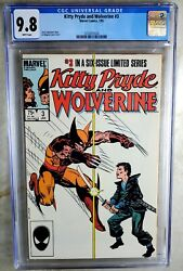 Kitty Pryde And Wolverine 3 1985 Cgc 9.8 Nm/mt White Pages Comic R0100