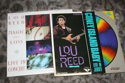 Lou Reed - Coney Island Baby - Live In Jersey Concert 1987 Laserdisc Plus Extra