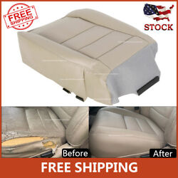 Driver Bottom Seat Cover Leather for Ford F250 F350 2002 2007 Super Duty Lariat $53.19
