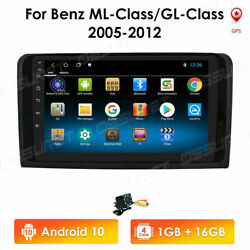 9 Android Car Gps Stereo Radio Wifi Dab+for Mercedes Benz X164 W164 Ml Gl+cam