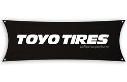 Toyo Tires Flag Banner 1.5 X 5 Ft Tires Proxes Performance Extensa Tire