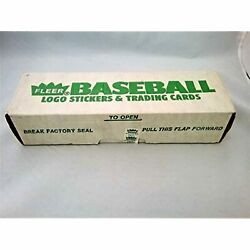 1988 Fleer Baseball Card Factory Sealed Set - Tom Glavineand039s Rookie Card -rc New